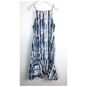 Artelier Nicole Miller Embroidered DropWaist Dress